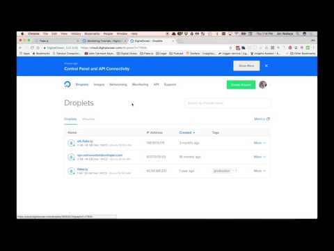 DigitalOcean Monitoring Overview