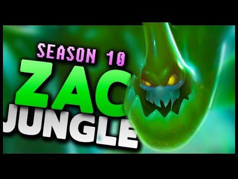 Zac Jungle Gameplay Guide (Season 10) - League of Legends