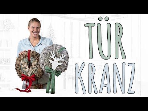 TÜRKRANZ - SCHLICHT FÜR DEN WINTER - WINTER DEKO DIY
