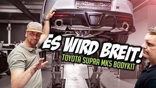 JP Performance - It's getting wide! | Toyota Supra MK5 Bodykit