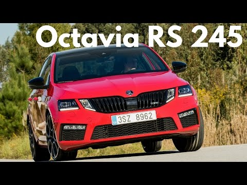 Škoda Octavia RS 2017: najrýchlejšia škoda s 245 koňmi!