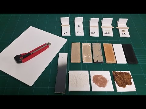 PVC Foamboard - A new basing material?