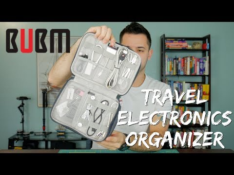 BUBM Travel Electronics Organizer