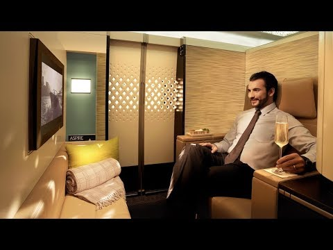 Etihad A380 First Class Apartment London to Abu Dhabi: MY BEST FLIGHT EVER!