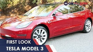 Tesla Model 3 First Look: India Exclusive