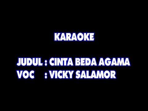 Karaoke   cinta beda agama   vicky salamor