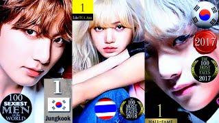 BTS × BLACKPINK : Most Beautiful & Handsome Ranking