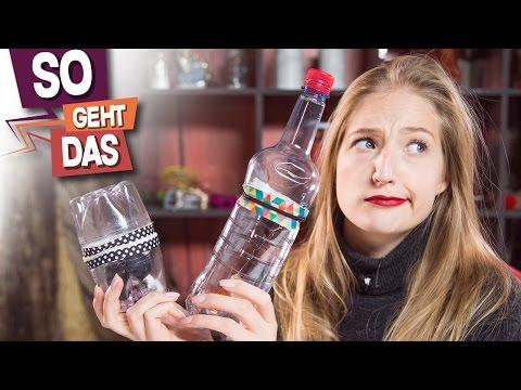 Kann man aus Plastikflaschen geile Behälter basteln?