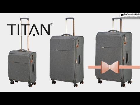Barbara & Titan 4-Rollen-Trolley | koffer-direkt.de