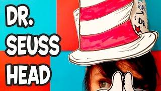 Dr. Seuss Head - Art And Craft Activity