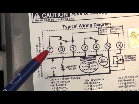 Refrigeracion Comercial Defrost timer