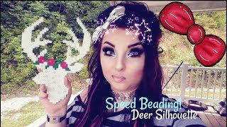Speed Beading!: Deer Silhouette