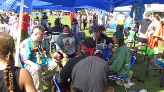 Elsipogtog 2014 Pow wow Straight Arrow Singers Invited Drum from Ontario Canada