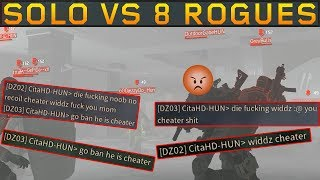 Solo vs 8 MAD ROGUES! SOLO DZ PVP #89 (The Division 1.8.3)