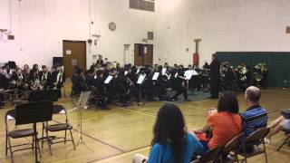HHMS 6th GRADE BAND Castles In Spain By Frank Erikson