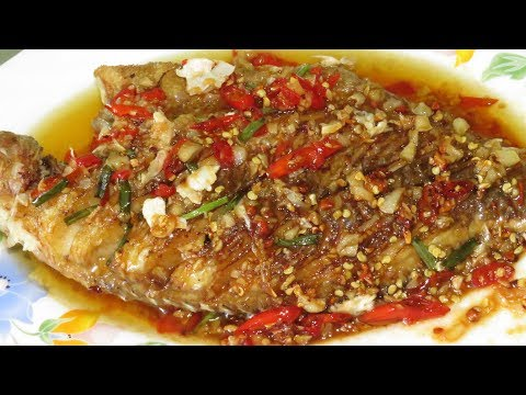 Spicy Fried Fish With Sauce Creative Recipes || Asian Food Cooking