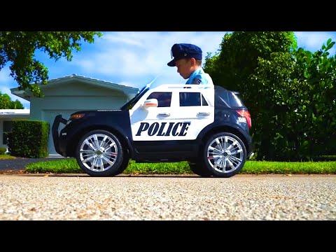 Сеня и Самые Лучшие Серии про Профессию Полицейского