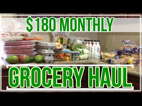 Shop With Me + Haul   Monthly Stock Up at Aldi, Grocery Outlet & More!