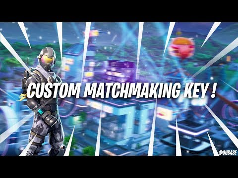 Fortnite Custom Matchmaking Keys On Ps4 And Xbox One Explained