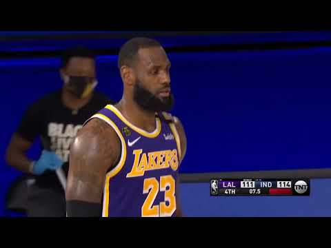 Lakers VS Pacers-8-8-20-Highlights