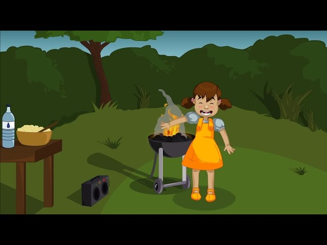 Dangers du jardin - Le barbecue
