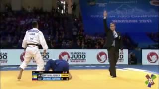 Чемпионский бросок Георгия Зантараи в финале ЧЕ-2017