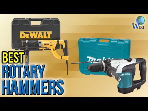 7 Best Rotary Hammers 2017