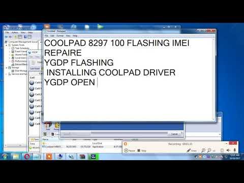 Repair IMEI MTK6592 CoolPad 8297 BST - смотреть онлайн на