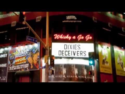 """Dixie's Deceivers Rock Bo Diddley's """"Can't Judge a Book by the Cover"""" at Whisky a Go Go, Hollywood."""