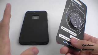 How to Install a Popsocket on ANY Phone or Tablet