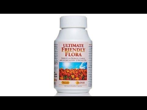 Ultimate Friendly Flora  180 Capsules