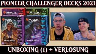 MTG Unboxing Pioneer Challenger Decks 2021 | Orzhov Auras | Magic the Gathering deutsch | Trader