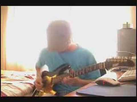 Electric Guitar Canon Rock In D Major Chords