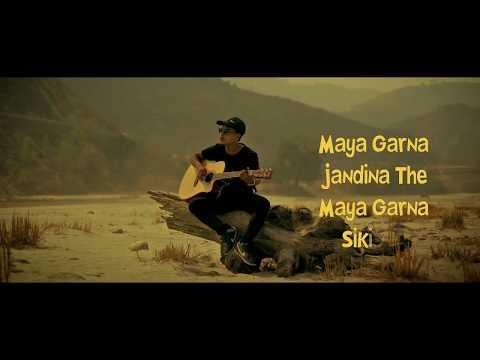 """Kina Bujhenau - ranjit lama """"Lyrical Video"""""""
