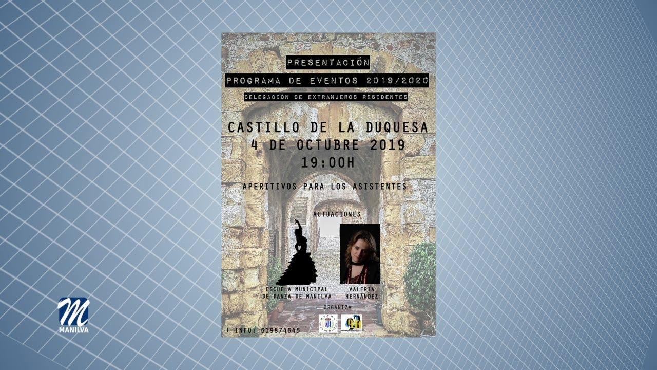 PRESENTACIÓN DEL PROGRAMA DE EXTRANJEROS EN EL CASTILLO DE LA DUQUESA