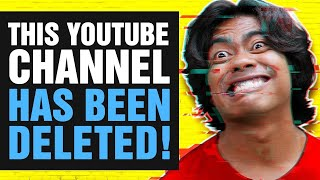 This YouTube Channel Has Been Deleted