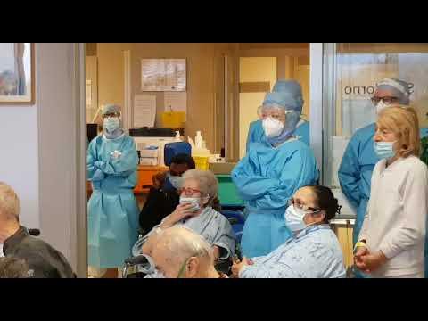Clinica Santa Maria di Castellanza, omaggio canoro ai pazienti covid