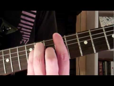 How To Play the C Sharp Chord On Guitar (C#) also D Flat (Db)
