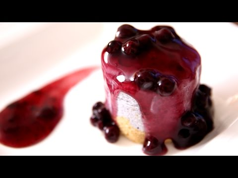 Blueberry Cheesecake | Eggless Dessert Cake Recipe | Beat Batter Bake With Priyanka