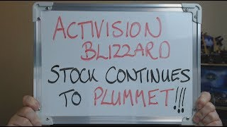 ACTIVISION BLIZZARD Stock Continues to PLUMMET !!