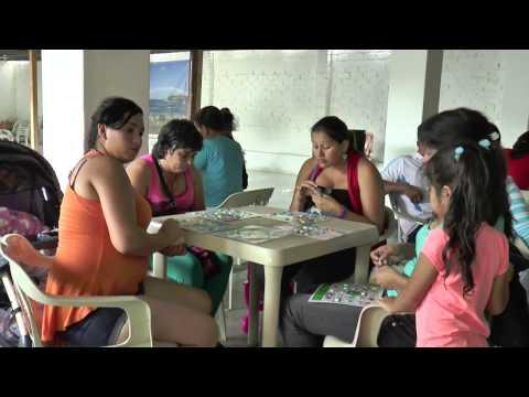 22/08/15 Con Lacti-Bingo se clausura mes de lactancia en Zapatoca