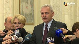 Dragnea: Parlamentul - convocat în sesiune extraordinară