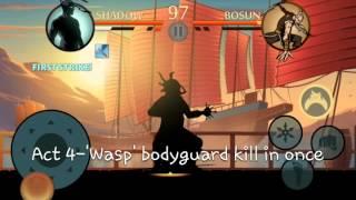 Shadow Fight 2 - act IV bodyguard killing mac