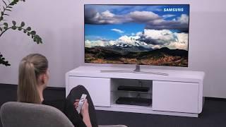 Samsung Smart TV: Ersteinrichtung