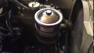 Willys Jeep starter Noise
