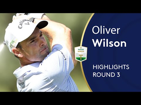 Oliver Wilson makes move with 65 in Sun City   Round 3 Highlights   Nedbank Golf Challenge