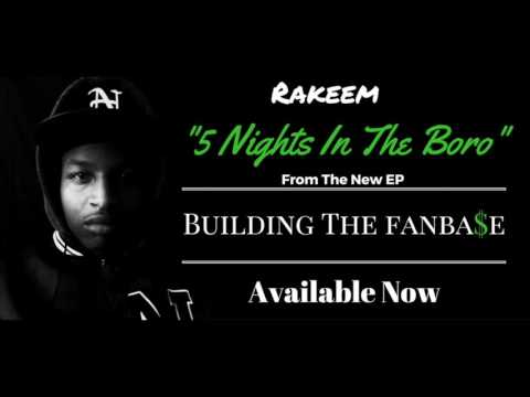 Rakeem - 5 Nights In The Boro (produced by Poovey Beatz) [Official Audio]