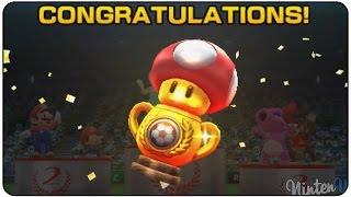Mario Sports Superstars (3DS) - Football - Mushroom Cup