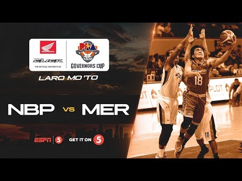 Full Game: NorthPort vs. Meralco | PBA Governors' Cup 2018