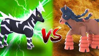Zebstrika  - (Pokémon) - Minecraft : Pokemon da Sorte Dark - ZEBSTRIKA VS MUDSDALE ‹ MayconLorenz ›